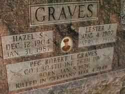 PFC Robert L Graves