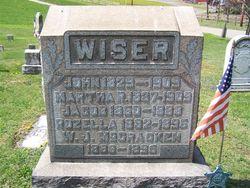 Martha R. <I>Frick</I> Wiser