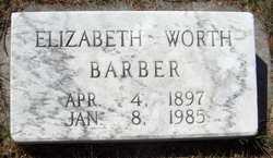 Elizabeth Worth Barber
