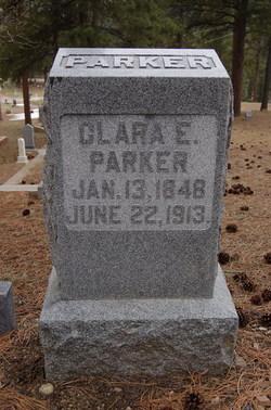 Clara Elizabeth <I>Thomas</I> Parker