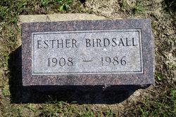 Esther Lenora <I>Tillman</I> Birdsall