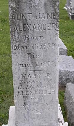 Mary Boteler Alexander