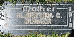 Albertina <I>Crosby</I> Bunker