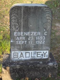 """Ebenezer Carl """"Ebb"""" Badley"""