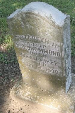 Eliza R <I>Miller</I> Drummond