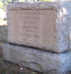 Gen William Preston Vose