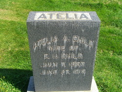 Atelia Ann <I>Thompson</I> Child