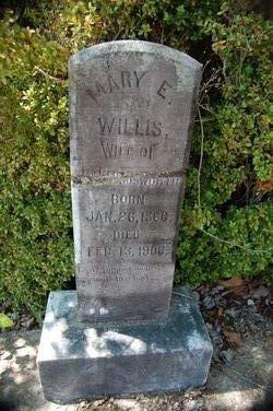 Mary Elizabeth <I>Willis</I> Bloodworth