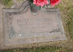 Ruby Diar <I>Davis</I> Walker