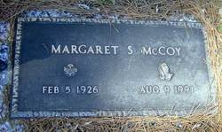 Margaret <I>Seal</I> McCoy