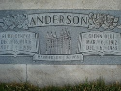 Ruby Geneve <I>Frost</I> Anderson