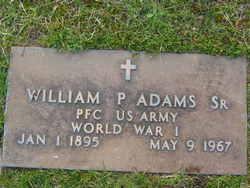 William P Adams, Sr
