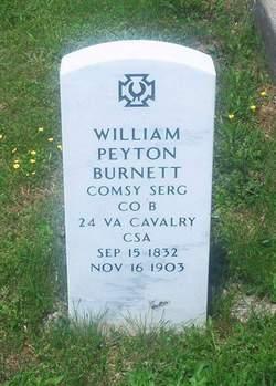 Sgt William Peyton Burnett