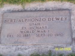 Bertie Alphonzo Dewey