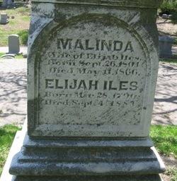 Malinda <I>Benjamin</I> Iles