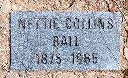 Nettie <I>Collins</I> Ball