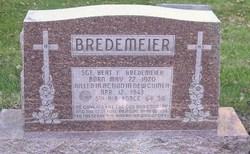 Sgt Bert F Bredemeier