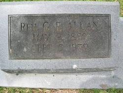 Rev G. E. Allan