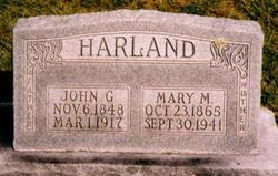 Mary Martha <I>McKay</I> Harland