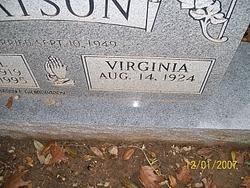 Bertha Virginia <I>Holcomb</I> Watson