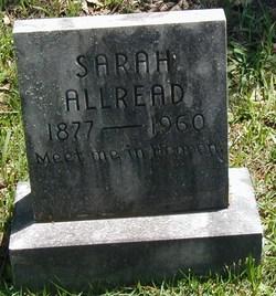 Sarah <I>Evans</I> Allread