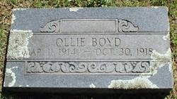 Ollie Boyd