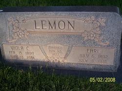 Viola Josephine <I>Critchlow</I> Lemon