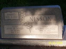 Annie Marie <I>Nielson</I> Nisson