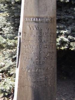 Susannah <I>Lee</I> Barlow