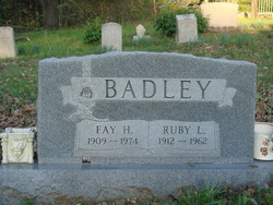 Ruby L <I>Peden</I> Badley