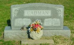 Bertha Jean <I>Townsend</I> Cadman