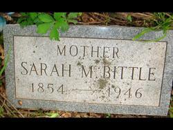 Sarah Margaret <I>Wolf</I> Bittle