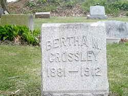 Bertha M Crossley