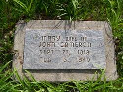 Mary <I>Rinehart</I> Cameron