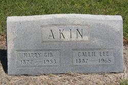 Callie Lee <I>Burk</I> Akin