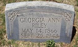 Georgia Ann Riley