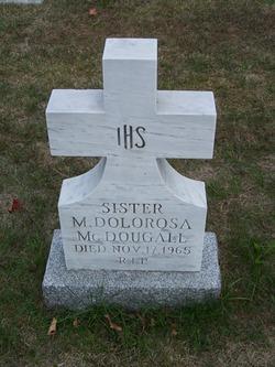 Sr M. Dolorosa McDougall