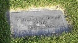 Elizabeth <I>Aufderhaar</I> Suhr