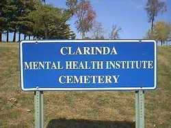Clarinda Mental Health Institute Cemetery