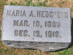 Marie Alice <I>Boulden</I> Hedgpeth