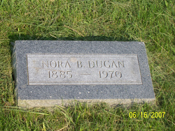 Nora B <I>Bellis</I> Dugan