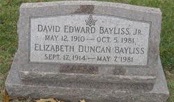 Elizabeth <I>Duncan</I> Bayliss