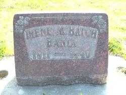 Irene May <I>Hatch</I> Banta