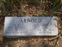 """Aminda Abigail """"Abby"""" <I>Winchester</I> Arnold"""