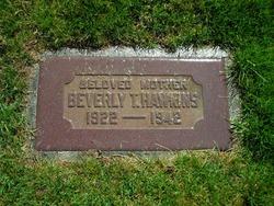 Beverly Mary <I>Thorup</I> Hawkins