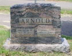 Martha Jane <I>Mahaffey</I> Arnold
