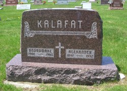 "Alexander Christ ""Alex"" Kalafat"