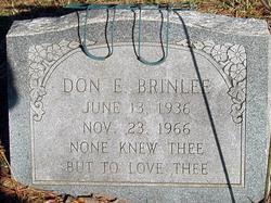Don E Brinlee
