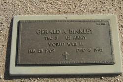 Gerald A Binkley