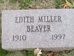 Edith <I>Miller</I> Beaver